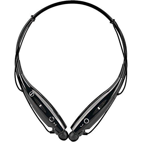 Bluetooth Universal Headset (Universal Bluetooth Neckband Headphones S Gear -HV-Digitial 800 Wireless Headset Sweatproof Running Gym Exercise Stereo Earphones Noise Cancelling Earbuds Cordless BK)