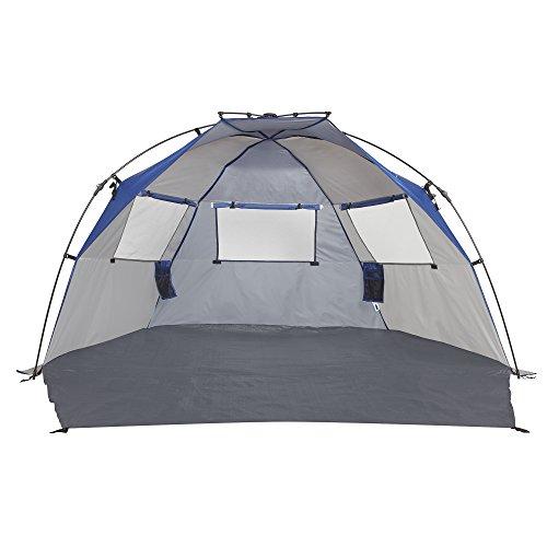 Tall Pop Up Shelter : Lightspeed outdoors quick cabana beach tent sun shelter