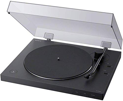 Sony LX310BT | Belt Drive Turntable | Fully Automatic Wireless Vinyl Record Player with Bluetooth and USB Output - Black (Pack of1)