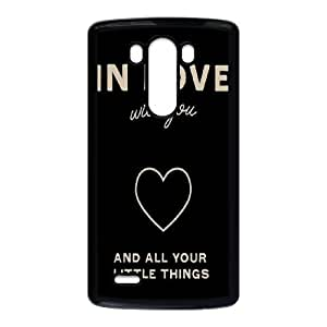 Im In LOve with you LG G3 Waterproof Back Cases Covers