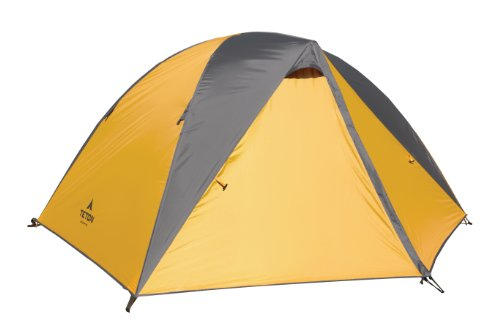 Teton Sports Mountain Ultra 4 Tent; 4 Person Backpacking Dome Tent Includes Footprint and Rainfly; Quick and Easy Setup; Ready in an Instant When You Need to Get Outdoors; Clip-On Rainfly Included