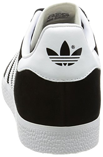 Adidas Unisex Metalic Adulto Originals Varios Gazelle white core Casual Zapatillas Black gold Colores AqwrSAgI1