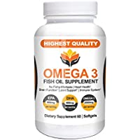 Me First Living Omega 3 Fish Oil (Burpless, 60 Capsules)
