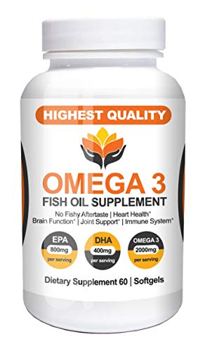 Me First Living Omega 3 Fish Oil, Burpless, 60 Capsules