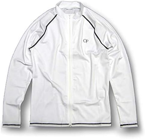 メンズ ジップアップ ラッシュガード長袖 水着 UPF50+ 516671