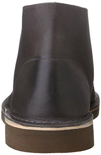 Clarks Uomo Bushacre 2Camoscio Sabbia Grey Leather Venta De Ebay b3BR4