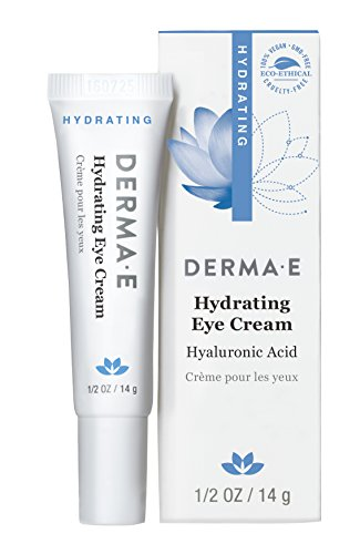 derma e Hydrating Eye Crme with Hyaluronic Acid and Pycnogenol, 1/2 Ounce, 14g
