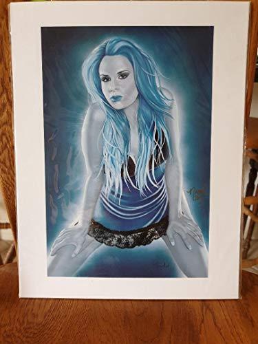 (Sapphire Satin by Nicole Brune)