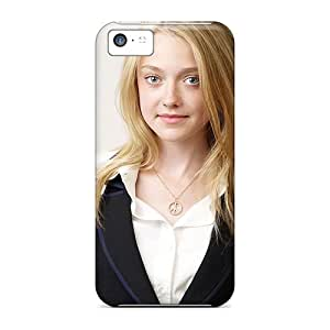 Forever Collectibles Dakota Fanning Hard Snap-on Iphone 5c Cases