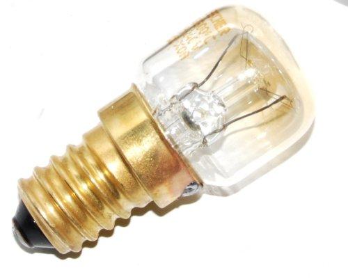 Genuine Hotpoint Oven Cooker Lamp Bulb Light Holder Glass /& Bulb 15 Watt