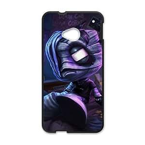 HTC One M7 Black phone case League of Legends Amumu LOL2830308