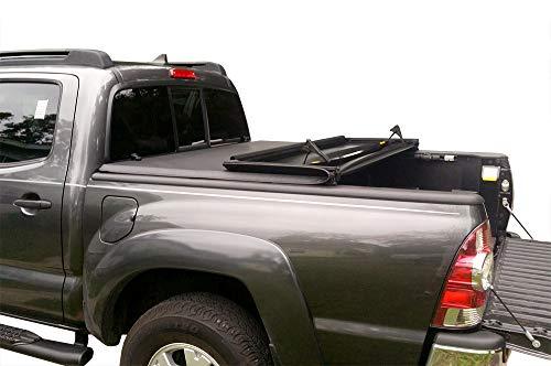 MaxMate Soft Tri-Fold Truck Bed Tonneau Cover for 2005-2015 Toyota Tacoma | Fleetside 5' Bed