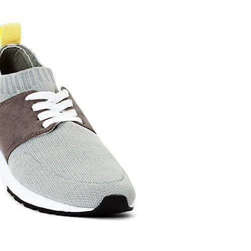 La Redoute Collections Frau Sneakers, Extraleicht, Textil Gre 40 Grau