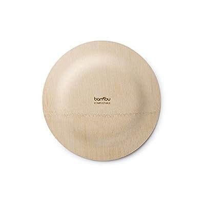 Bambu Round Veneerware Plates