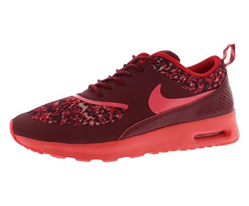 4c73b09339f6 NIKE Womens Air Max Thea Print Team Red Action Red Deep Burgundy 599408-601  9.5 - Buy Online in UAE.