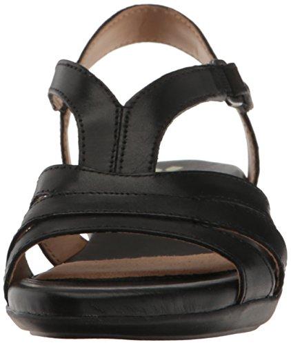 411zoKUB6jL Naturalizer Women's Neina Huarache Sandal, Black, 9.5 M US