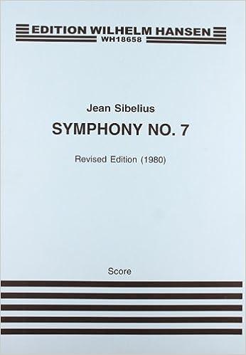 SIBELIUS  SYMPHONY NO. 7 OP. 105  FULL SCORE