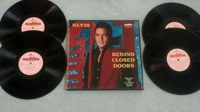 Behind Closed Doors SEALED 4xLP Box Set VINYL LP - Label=Audifon - Catalog No.=AFNS-66072-4