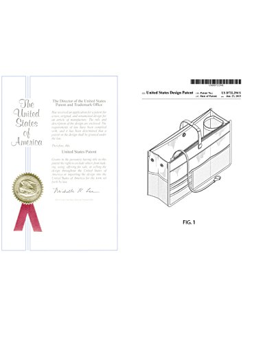 Dahlia Patented STURDY Handbag Purse Organizer Insert - 21 Components Black by Dahlia (Image #2)