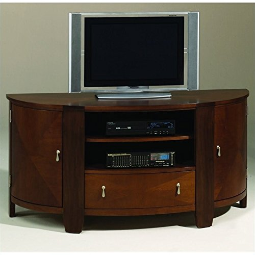 Hammary Oasis Entertainment Console in Cherry/Walnut (Cherry Hammary)