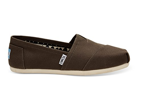 TOMs Women's Alpargata Slipper, Tarmac Olive, 7 M - Flat Rogue Womens