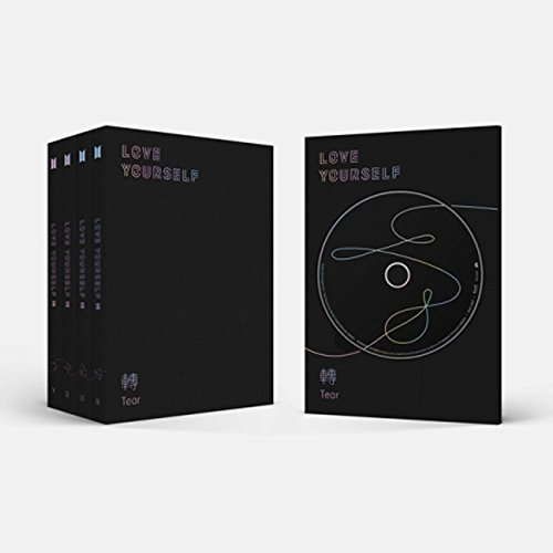 BTS - LOVE YOURSELF 轉 TEAR [ O version ] CD+PHOTOBOOK+PHOTOCARD+Folded poster