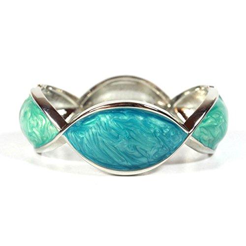 nged Bangle Bracelet (Fenton Vases)