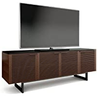 BDI Corridor 8179 Quad Cabinet for TVs up to 85 (Chocolate Stained Walnut)