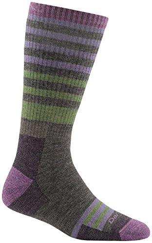 (Darn Tough Gatewood Boot Sock - Women's Taupe Large)