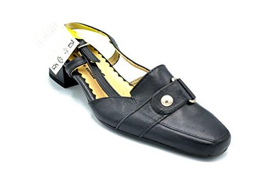 Pitillos 851 - Zapato abierto detras con tacón