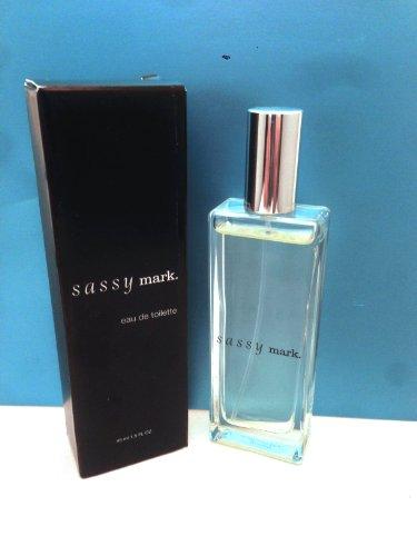 Avon SASSY Mark Perfume For Women Eau De Toilette Spray 1.5 oz 45 ml Rare