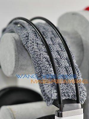 Hand Woven Pure Wool - FidgetFidget Pure Wool Headband Cushion For Audio-Technica ATH-M40 ATH-M50 ATH DJ Headphones{Compatible Product: ATH M40 M50 M30 M35 ATH SX1 M20X M50S, Colors: Grey}