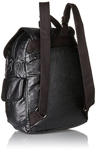 S Pack Lacquer Women's Backpack Kipling City Black H31 Night qtzw6W