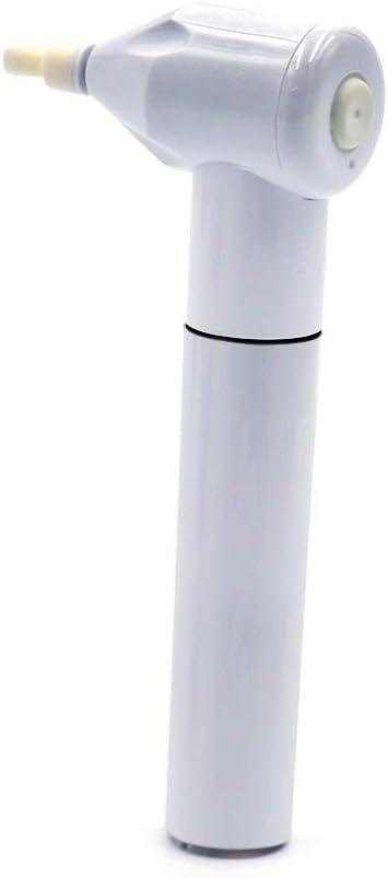 Blanchet - Blanqueador Dental giratorio, con 5 Cabezales, Elimina las manchas dentales, pulidor Dental para Blanqueamiento Dental, color Blanco