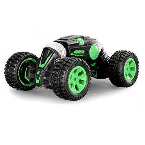 PXtoys 9903 1/10 2.4G 4WD Double-Sided Stunt Rc Car 360? Rotation Toy - Green