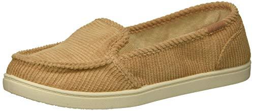 (Roxy Women's Minnow Sneaker, tan, 8.5 M US)