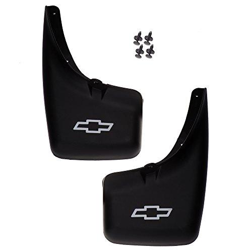 OEM NEW Rear Molded Splash Guard Mud Flap w/Bowtie Logo 99-07 Silverado 12495823