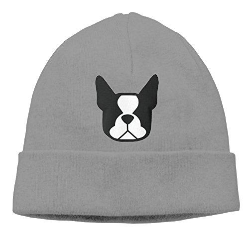 Men/Women Boston Terrier Hedging Hat Wool Beanies Cap (Walking Dead Dog Merchandise compare prices)