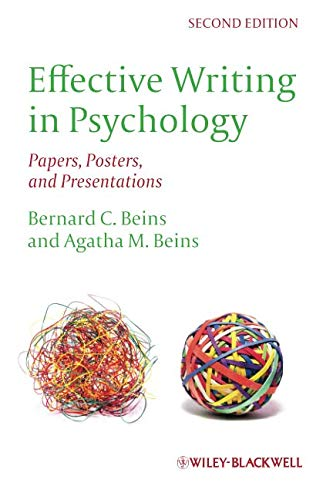 Top effective writing in psychology beins for 2020