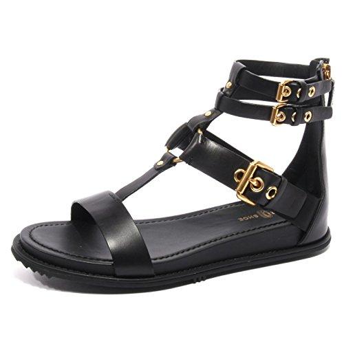 Nero Shoe Scarpa Car Donna B2374 Flip Nero Sandalo Flop Shoe Woman HqvxI8