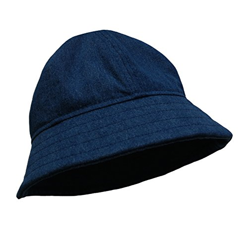 DMK Baby Bucket Sun Hat: Superior Quality 100% Cotton Unisex Manufacture, Modern Design Toddler Summer Hat For Girls & Boys/ Stylish, Breathable & In Different Sizes & Colors Dark Denim 50cm