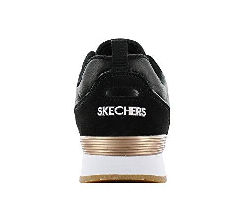 Skechers OG 85 - Goldn Gurl Schwarz Rindsleder