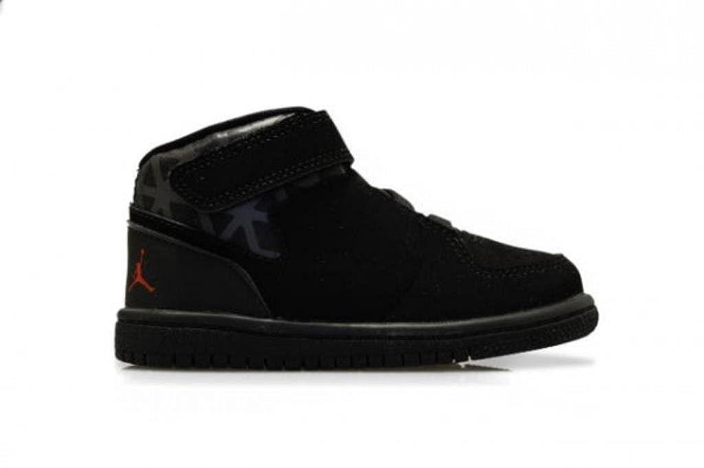 cec64b74fef Nike Infants - Jordan 1 Flight 3 BT - Black Gym Red - UK 6.5: Amazon.co.uk:  Shoes & Bags
