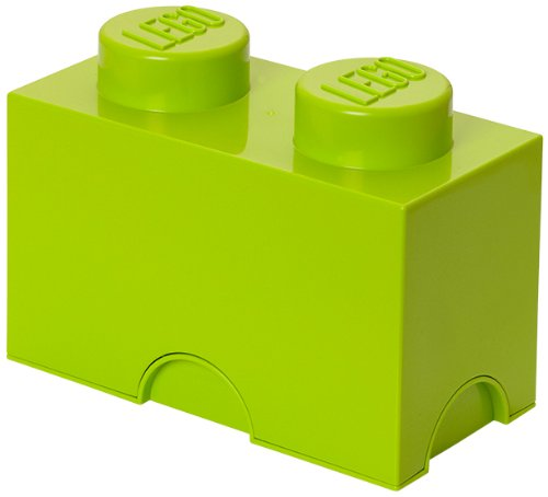 LEGO Storage Brick 2, Lime Green -  Room Copenhagen, 40020620