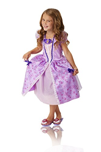 Sofia the First Royal Curtsy Dress Purple Fits sizes 4-6x. Ages 3+ (Sophia The First Dress)