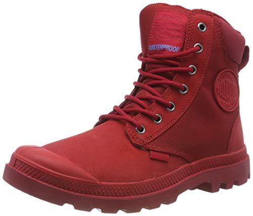 Cuf Rosso rouge Unisex Red Derby U Stringate rio Spor Chevron Adulto Scarpe J81 Palladium Basse – Wpn Pw5q887