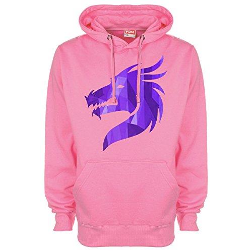 Cristallo Con Drago Pink Viola Minamo Cappuccio wtUq7pdw 233518d94bc