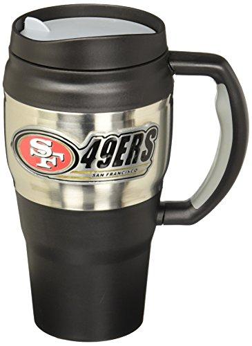 NFL San Francisco 49ers 20-Ounce Travel Mug