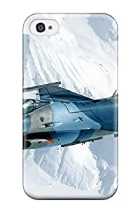 Zheng caseHot Style GIliPHI5098iVPDZ Protective Case Cover For Iphone4/4s(jet Fighter)