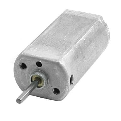 Uxcell DC 6V 20000RPM Output Speed Gear Box Micro Electric Geared Motor (Micro Tool Box)